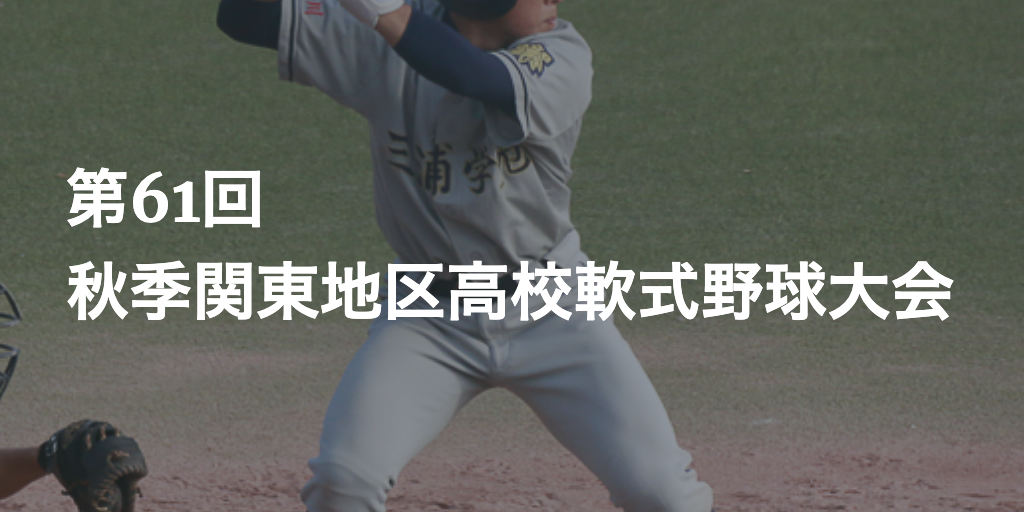 関東 野球 秋季 高校 常総学院など4強 センバツ前進/秋季関東大会詳細